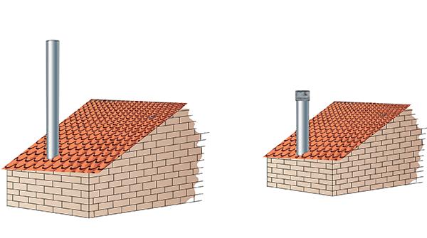 Vysoký komín vs. Draftbooster komínový ventilátor